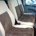 VW T5 leather and suede